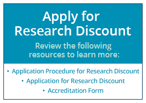 Apply for Research Discount